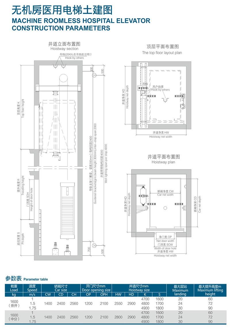 无机房医用电梯土建图.jpg
